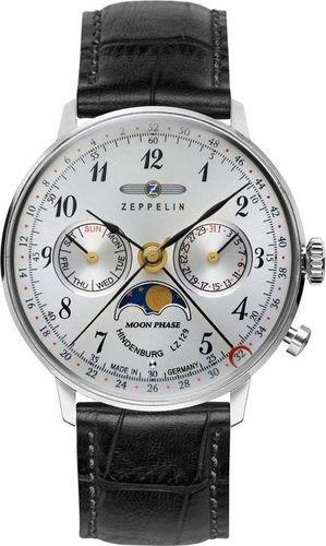 Zegarek Zeppelin Zegarek Zeppelin LZ129 Hindenburg 7037-1 Quarz Srebrny uniwersalny