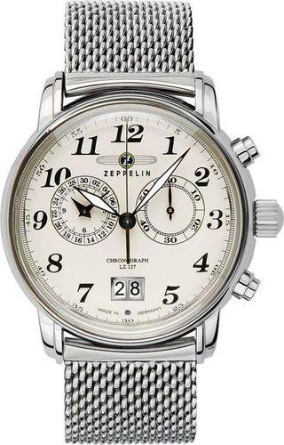 Zegarek Zeppelin Zegarek Zeppelin LZ127 7684M-5 Quarz Beżowy uniwersalny