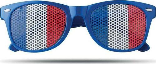 Upominkarnia Okulary przeciwsłoneczne FLAG FUN UPOMINKARNIA Niebieski uniwersalny