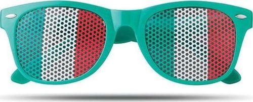 Upominkarnia Okulary przeciwsłoneczne FLAG FUN UPOMINKARNIA Zielony uniwersalny