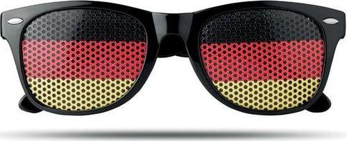 Upominkarnia Okulary przeciwsłoneczne FLAG FUN UPOMINKARNIA Żółty uniwersalny