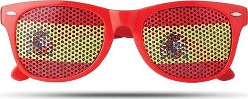 Upominkarnia Okulary przeciwsłoneczne FLAG FUN UPOMINKARNIA Czerwony uniwersalny