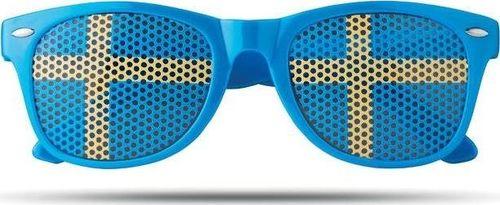 Upominkarnia Okulary przeciwsłoneczne FLAG FUN UPOMINKARNIA Granatowy uniwersalny