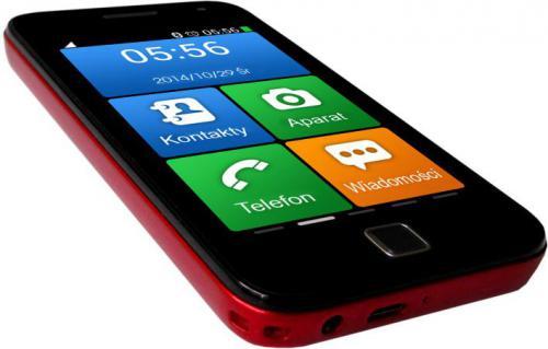 Smartfon NavRoad NEXO iZi red  (Navroad Nexo iZi red)