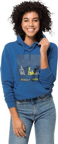Jack Wolfskin Bluza damska 365 HIDEAWAY HOODY W federal blue r. S (1708871-1300)