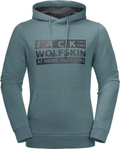 Jack Wolfskin Bluza męska Brand Hoody M north atlantic r. M (1709201-1159)