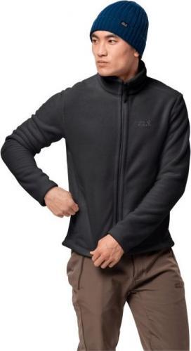 Jack Wolfskin Bluza męska Moonrise Jacket Men black r. L (1702064-6000)