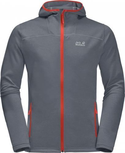 Jack Wolfskin Bluza męska Horizon Hooded Jacket M wild brier r. XL (1708411-3017)