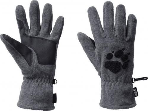 Jack Wolfskin Rękawice unisex Paw Gloves grey heather r. L (19615-6110)