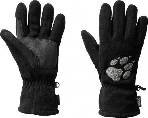 Jack Wolfskin Rękawice unisex Paw Gloves black r. M (19615-6000)