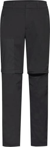 Jack Wolfskin Spodnie męskie Overland Zip Away black r. 50 (1506111-6000)