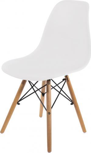 LEOBERT Krzesło TOLV DSW - białe