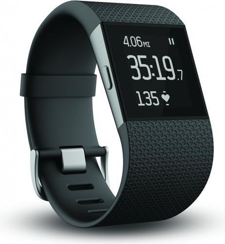 Smartwatch Fitbit Surge, czarny, rozmiar L