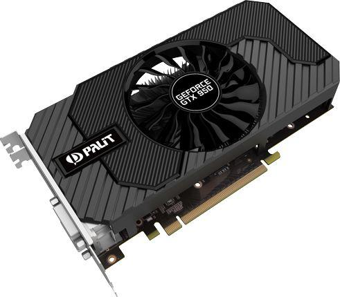 Karta graficzna Palit GTX950 STORMX 2GB GDDR5 128bit 2xDVI+HDMI+DP PCIe3.0 NE5X95001041F