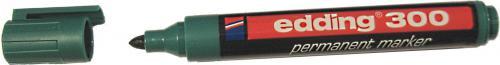 Edding Marker permanentny 300 końcówka okrągła zielony (EG1003)
