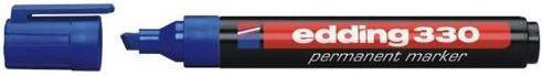 Edding Marker permanentny 330 ścięta końcówka niebieski (EG1006)