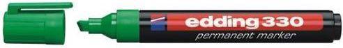 Edding Marker permanentny 330 ścięta końcówka zielony (EG1007)