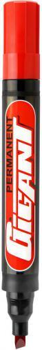 Kamet Marker permanentny GIGANT końcówka ścięta czerwony (KM5073)
