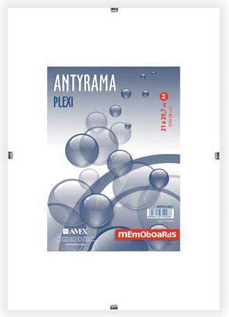 Ramka Memoboards Antyrama Plexi A4 21X29.7CM (ANP21x29,7)