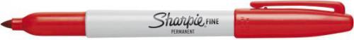 Sharpie Marker permanentny FINE czerwony (PM5070)