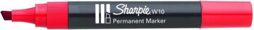 Sharpie Marker permanentny W10 czerwony (PM5023)