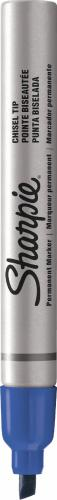 Sharpie Marker permanentny BAREL metalowa obudowa niebieski 4mm (PM5591)