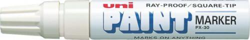 Uni Mitsubishi Pencil Marker olejowy PX30 biały (UN1058)