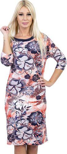 GENESY V294 Sukienka Big Size (46-52) - b Rozm. 50