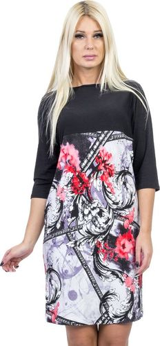 GENESY V294 Sukienka Big Size (46-52) - a Rozm. 46