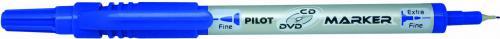 Pilot Marker dwustronny do CD/DVD niebieski (WP1450)
