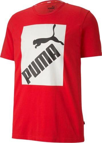 Puma Koszulka męska Puma Big Logo Tee czerwony M
