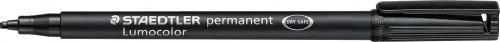 Staedtler Foliopis Lumocolor M 0,8mm czarny (ST1090)
