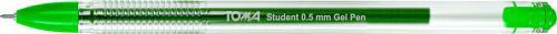 Toma Długopis żelowy STUDENT zielony (TO-071)