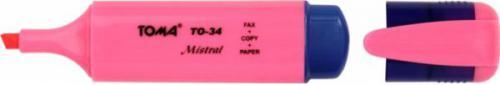 Toma Zakreślacz Mistral TO-34 różowy (TA1012)