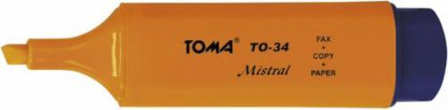 Toma Zakreślacz Mistral TO-34 pomarańczowy (TA1014)