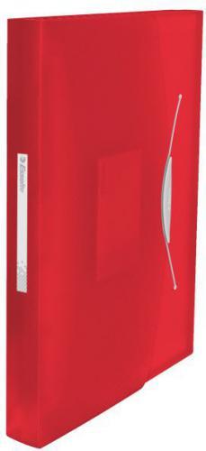 Esselte Teczka harmonijkowa  Vivida A4/6 przegródek, czerwona (624016)