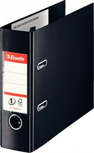 Segregator Esselte No.1 Bankowy dźwigniowy A5 75mm czarny (468970)