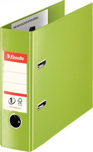 Segregator Esselte No.1 dźwigniowy A5 75mm zielony (468960)