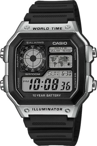 Zegarek Casio Męski AE-1200WH-1CVEF Collection (5092)