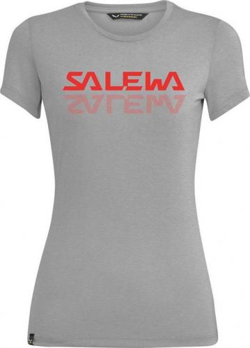 Salewa Koszulka damska Graphic Dry heather grey r. S