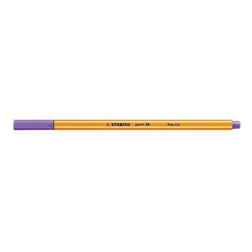 Stabilo Cienkopis POINT 0.4mm fioletowy (SH1008)