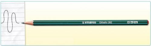 Stabilo Ołówek techniczny H OTHELLO (282/H)