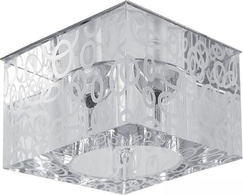 Lampa sufitowa Spotlight Wpust wpuszczany prostokątny chromowany Spotlight Cristaldream 5121501 min. połowę taniej