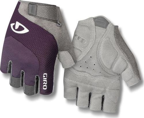 GIRO Rękawiczki damskie GIRO TESSA GEL krótki palec dusty purple roz. XL (obwód dłoni 205-210 mm / dł. dłoni 196-205 mm) (NEW)