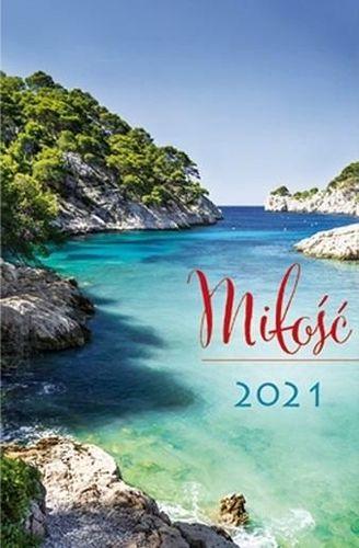 Edycja Świętego Pawła Kalendarz 2021 Kieszonkowy Miłość - Woda