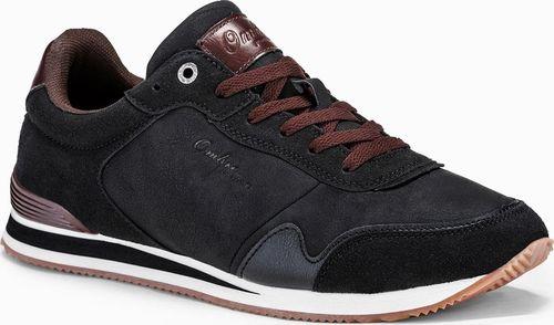 Ombre Buty męskie sneakersy T332 - czarne 45