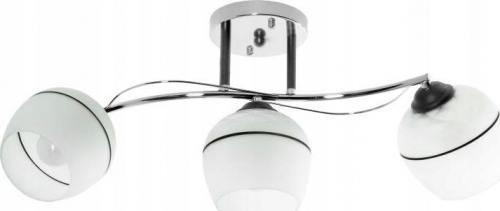 Lampa sufitowa Lampex Emiko 3x60W
