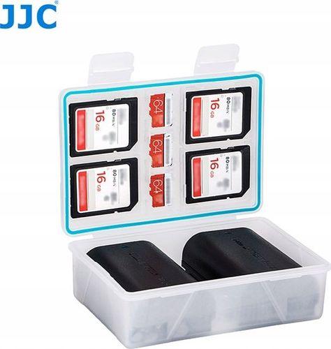 Pokrowiec JJC Pudełko Futerał Bateria / Akumulator + Karty Pamięci Sd / Microsd - Xl