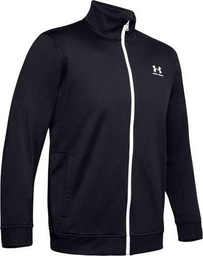 Under Armour Bluza męska Sportstyle Tricot Jacket czarna r. L (1329293-002)