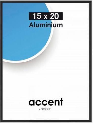 Ramka Nielsen Design 15x20 Aluminium Czarny  (51326)